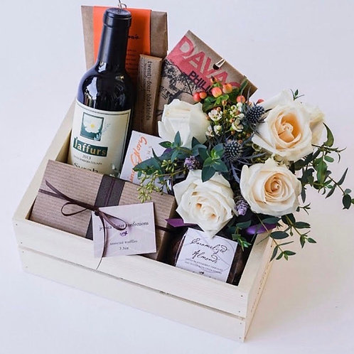 Customized Wine Baskets