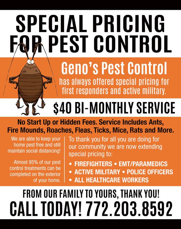 Geno's Pest Control