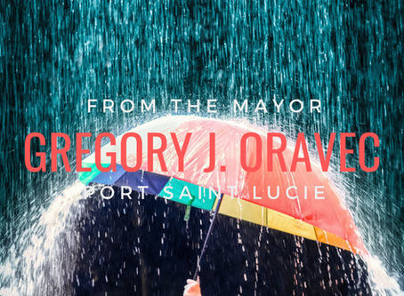 When It Rains It Pours - From the Mayor Gregory J. Oravec