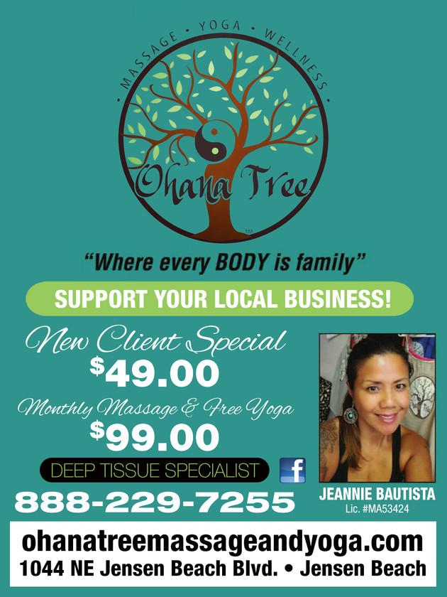 Ohana Tree Massage and Yoga