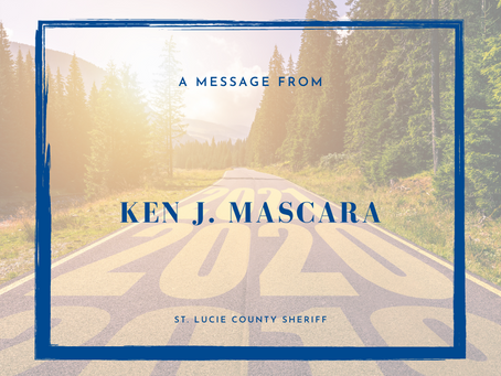 From the Sheriff, Ken J. Masacara