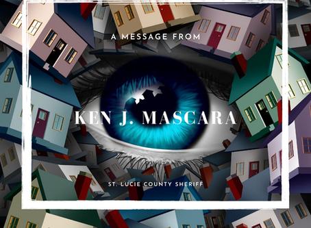 From the Sheriff, Ken J. Mascara