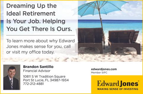 Brandon Santillo, Financial Advisor, Edward Jones