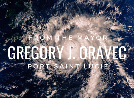 From the Mayor – Gregory J. Oravec