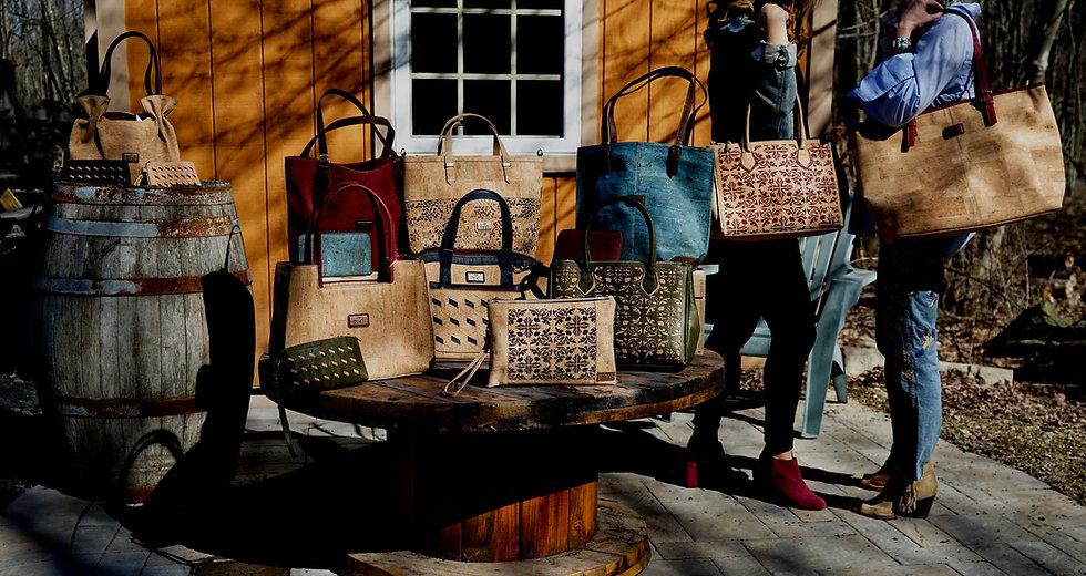Cork Purses Handbags and Accesories