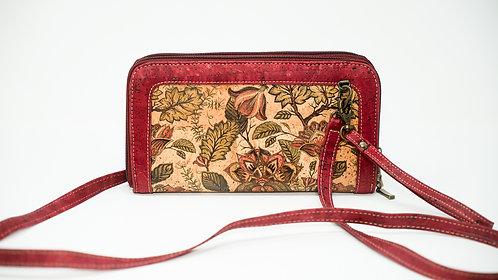 double wallet wristlet /purse