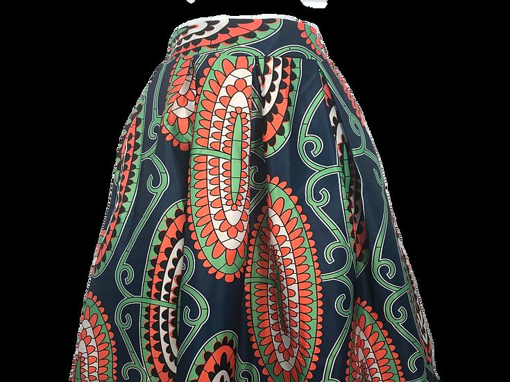 Flare Print Skirt