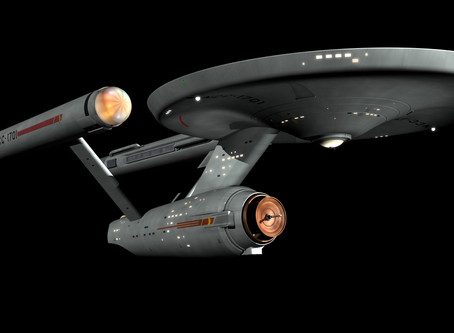 To boldly go...somewhere very familiar