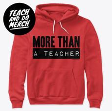 MORE THAN A TEACHER APPAREL