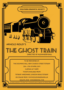 ghost train poster A4