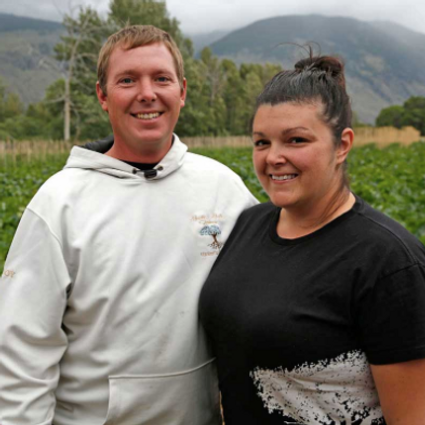 Harker's Organics, Our Team, Sara and Troy Harker