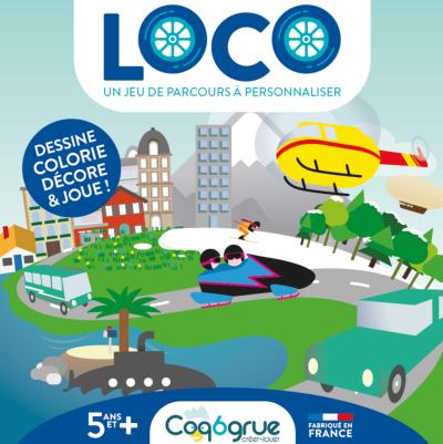Coq6grue - Loco un jeu de parcours à personnaliser