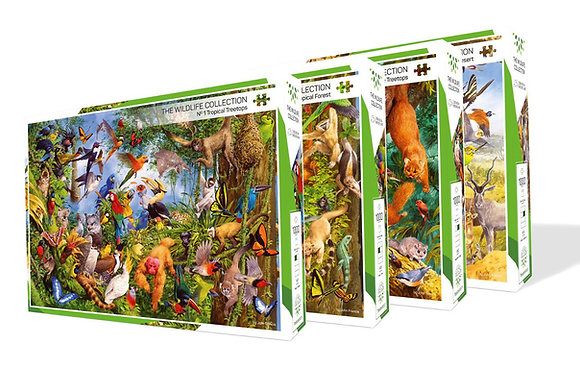 PUZZLE COLLECTION WILDLIFE