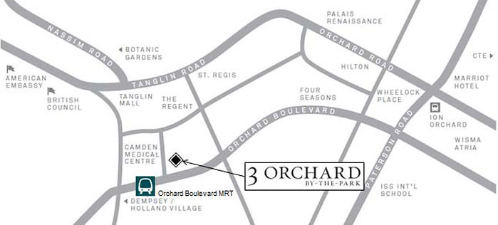 3 Orchard by the Park Location