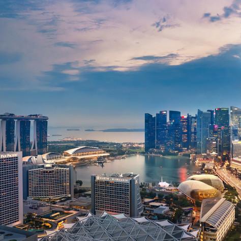 Singapore Marina Bay View