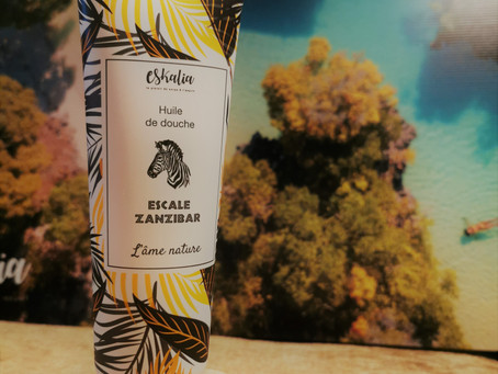 Zanzibar Huile de douche été 2020