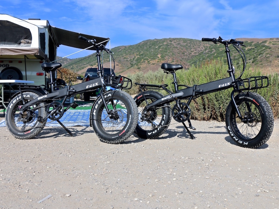 Sierra Electric Folding Bike - Easy to set up and go and store