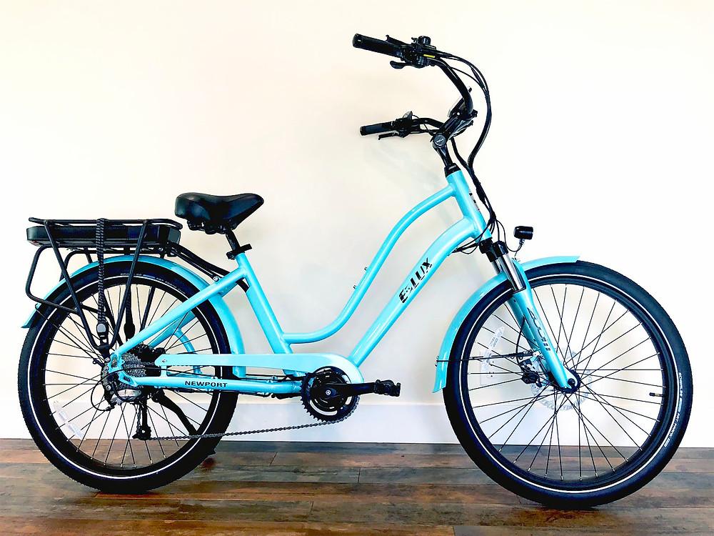 Best Bike for Hybrid Biker Lifestyle | E-Lux Newport Step-Thru Sport