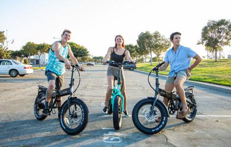 Friends Ride Sierra Folding Electric Bikes