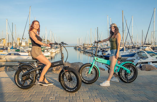 Sierra Folding Electric Bike Sail Around Marina del Rey