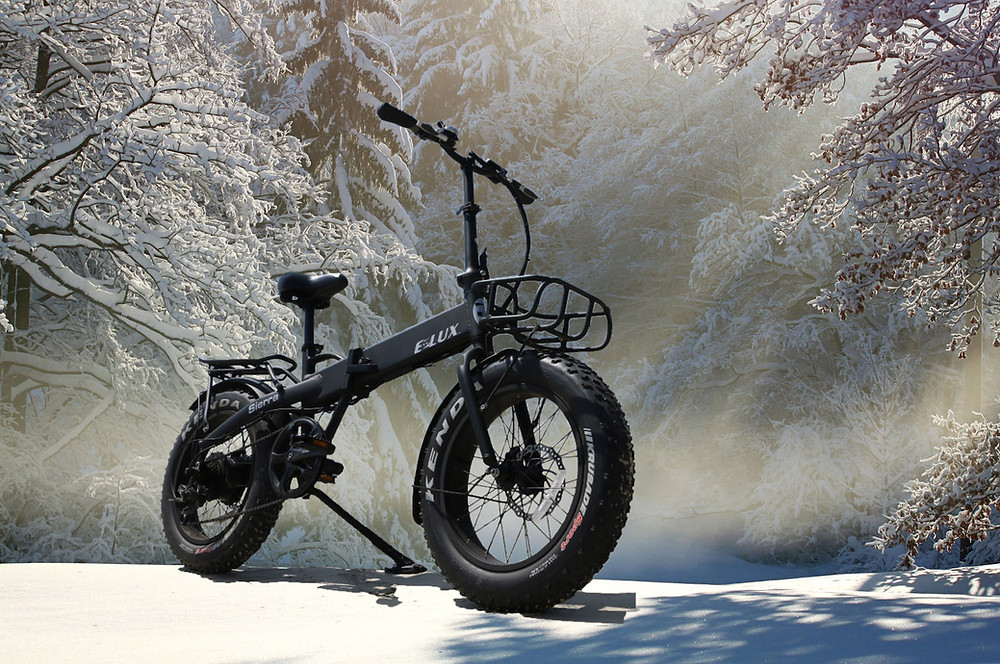 5 Tips for Riding Your Electric Bike in the Winter | E-Lux Electric Bikes