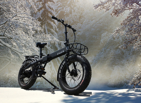 Five Tips for Riding Your E-Bike in the Winter