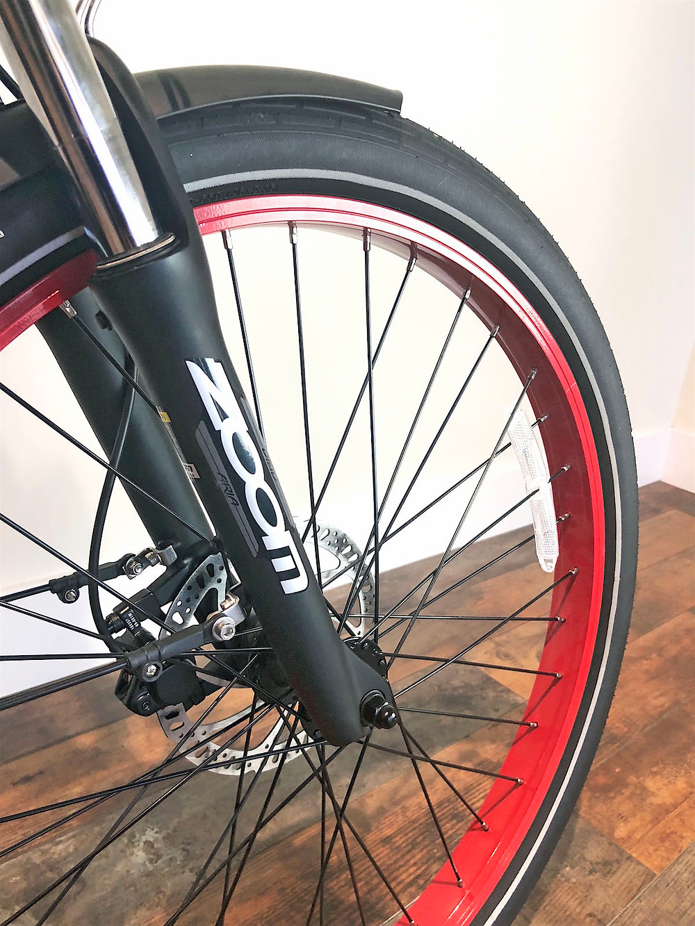 Zoom Front Suspension Shocks | E-Lux Electric Bikes