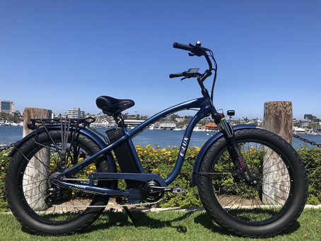 E-Lux Tahoe Sport Adds Comfort and Luxury to Biking