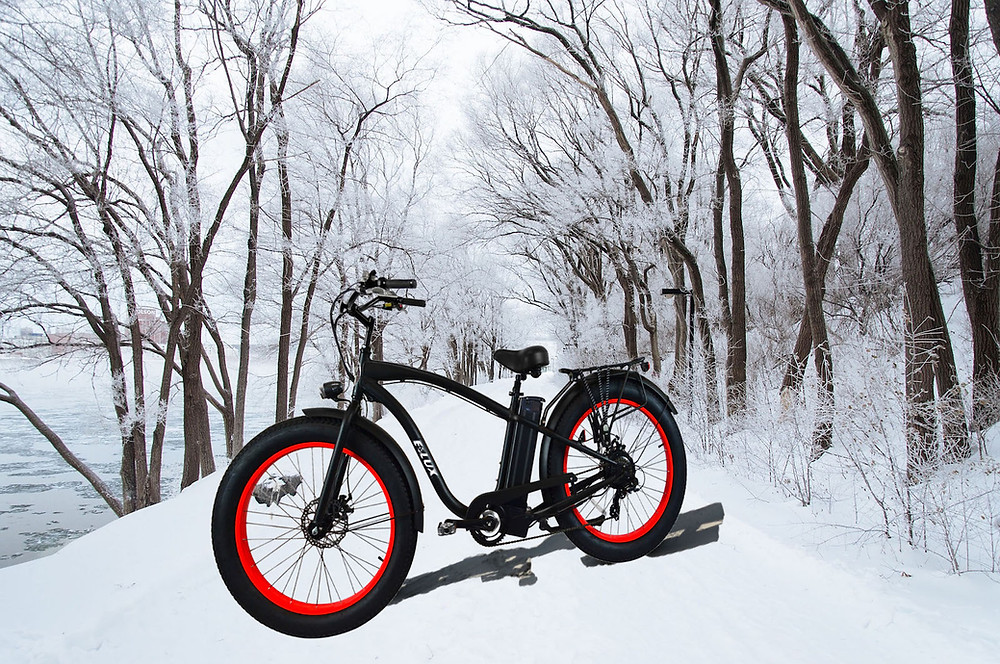 Winter Bike Riding | E-Lux Electric Bikes