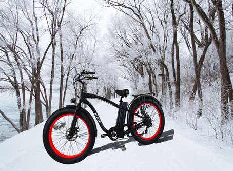 Essential Gear for Safely Riding Your Electric Bike in Snow