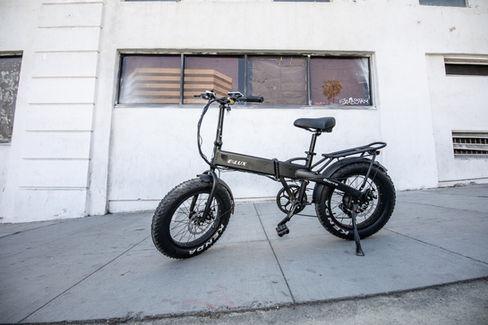 Sierra Folding Electric Bike Sidewalk Cruiser