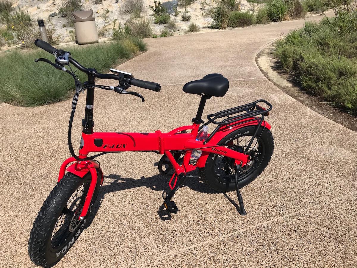 Sierra Folding Bike Red Water Bottle Holder