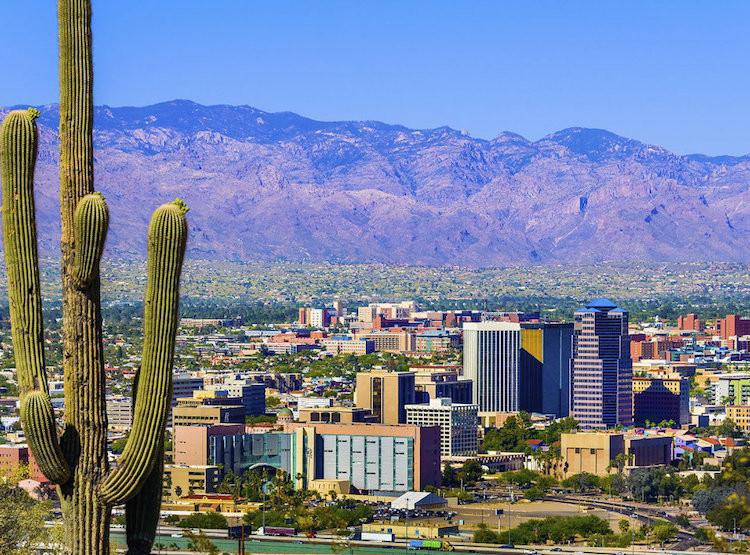 Tucson Loop 131 Bike Path Trail Network Best City for Bike Friendly