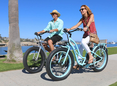 4 Ways an Electric Bike Will Help You Shape Up for Summer