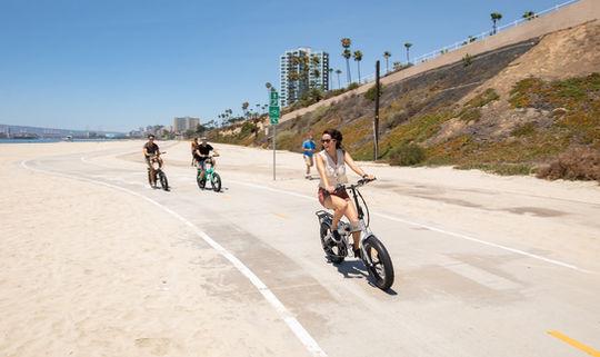 Sierra Folding Electric Bike Move Fast
