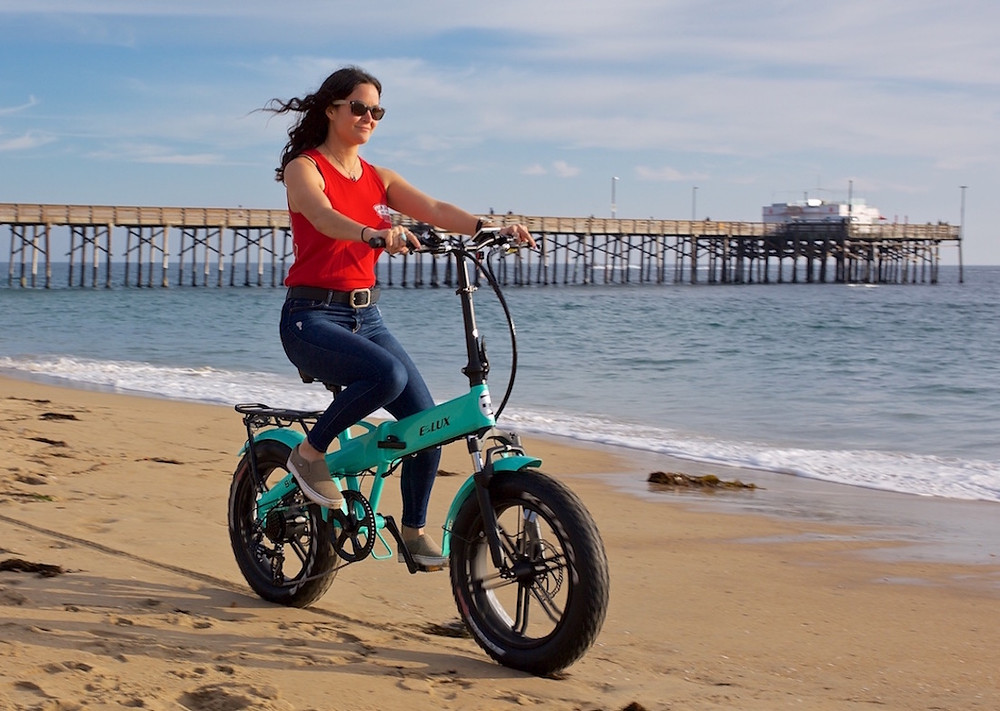 Sierra Sport Electric Folding Bike | E-Lux Electric Bikes
