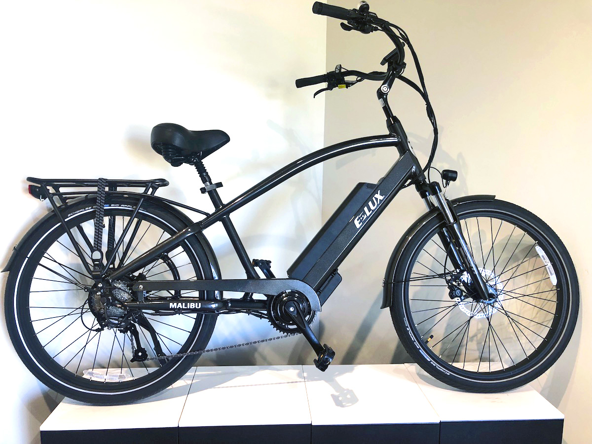 Malibu Gun Metal Electric Bike