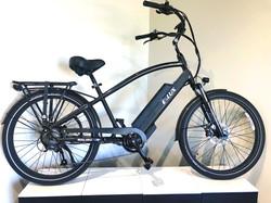 Malibu Gun Metal Electric Bike