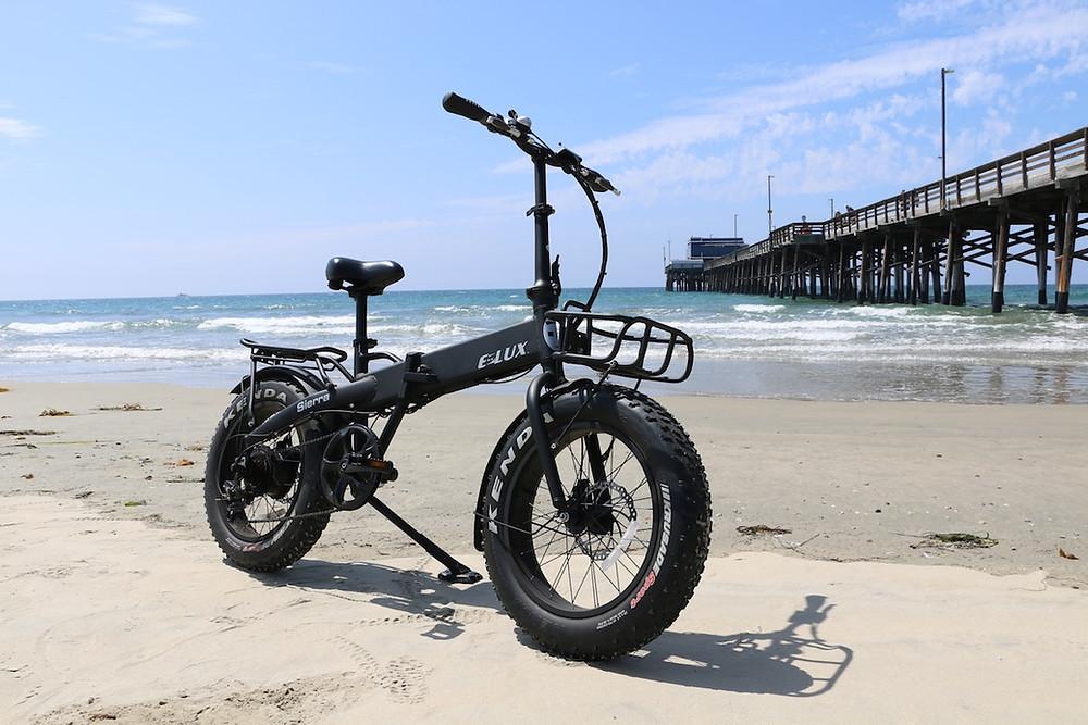 Seirra Electric Folding Bike   Elux Electric Bikes