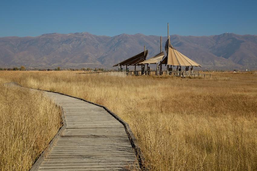 Great Salt Lake - RV Trip Destination - E-bike ride
