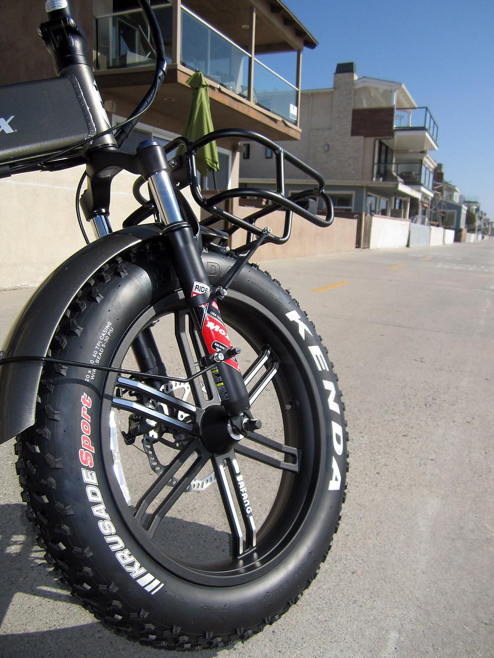 E-Lux Sierra Sport Monzo Front Shocks & Bafang Mag Wheels