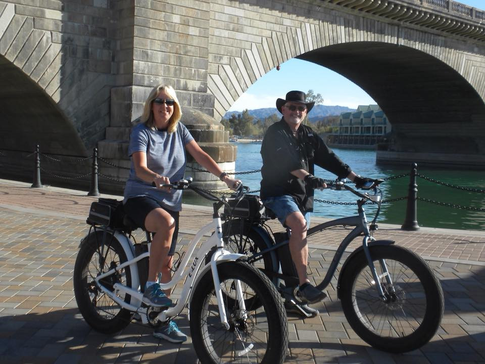 Seniors Riding Electric Bikes | Elux Electric Bikes