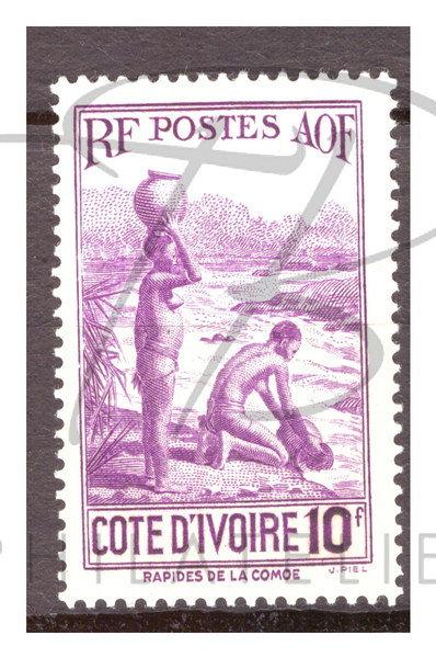 Côte d'Ivoire n°131 , *
