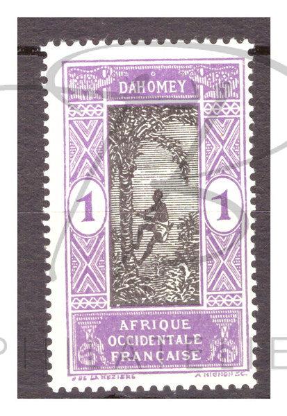 Dahomey n°43 , *