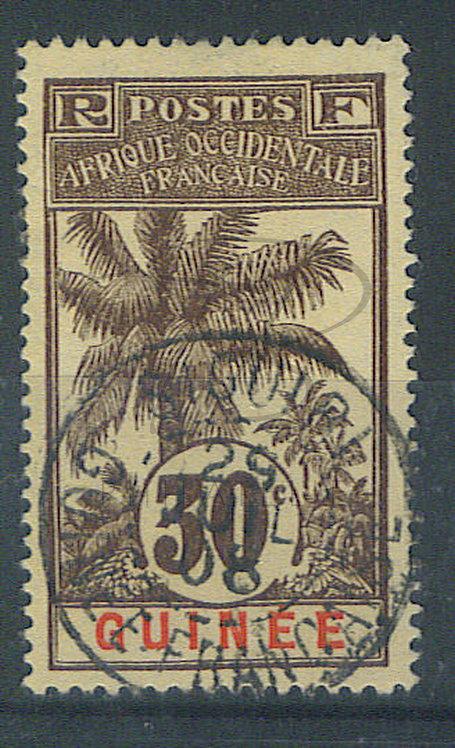 "Guinée n°40 , cachet ""SIGUIRI"""