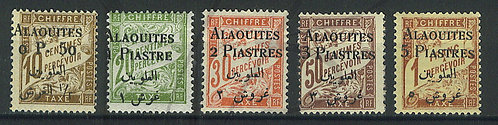 Alaouites Taxes n°1-5 , *