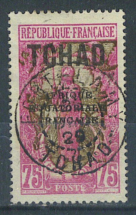 "Tchad n°43 , cachet ""FORT-LAMY"""