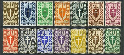 Cameroun n°249-262 , **