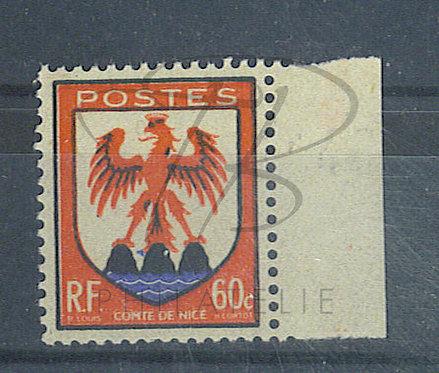 France n°758 + BDF, point bleu entre les 2 rochers