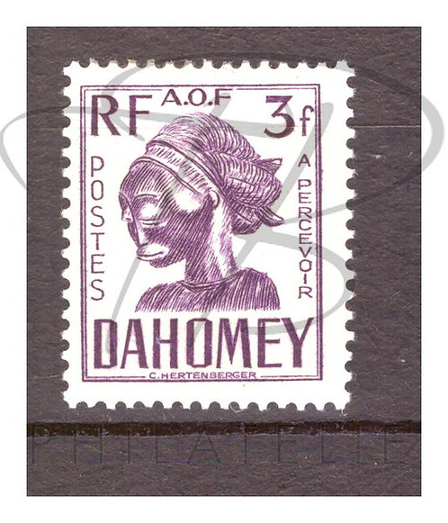 Dahomey taxe n°28 , *